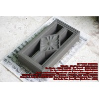 Cetakan Loster - Motif Bunga AG 20 x 40 cm