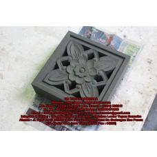 Cetakan Loster - Motif Bunga Cempaka 30 x 30 cm